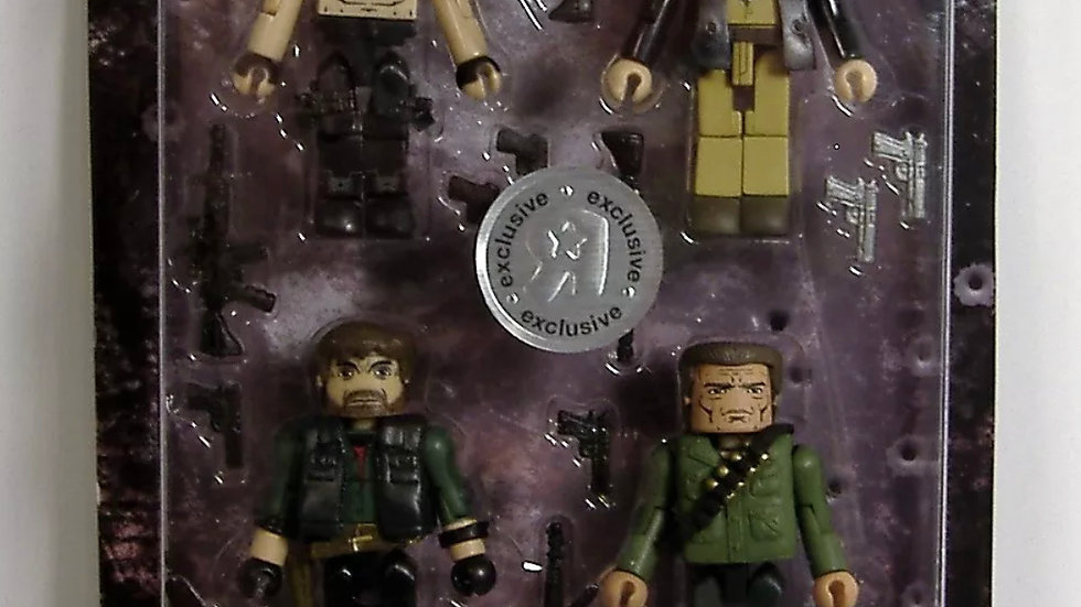 Minimates TRU Exclusive The Expendables Box Set Mr. Church Trench Booker Barney