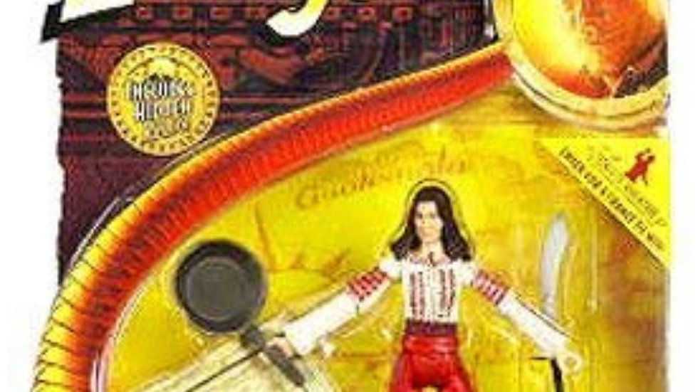 Indiana Jones Raider of the Lost Ark Marion Ravenwood Action Figure with Hidden