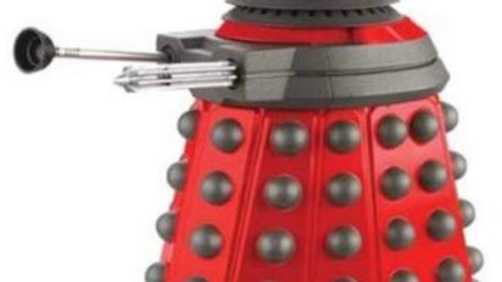 Doctor Who Dalek Paradigm Series Dalek: Drone 6 (Red)