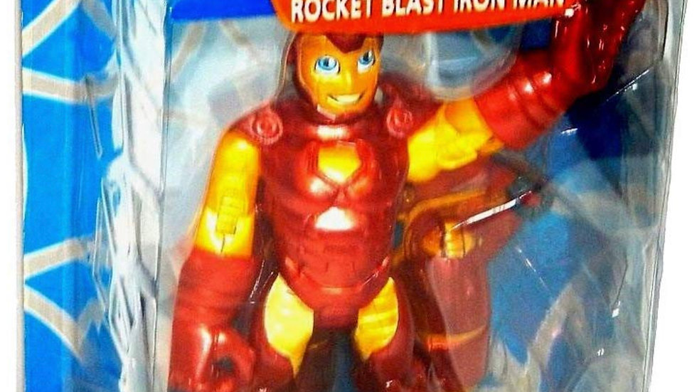 Spider-man & Friends Rocket Blast Iron Man Super Heroes Figure