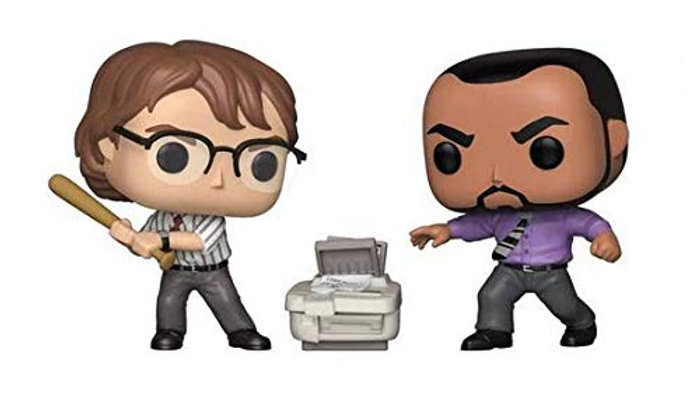 Funko POP! Movies: Office Space 2-Pack Michael Bolton & Samir Limited Edition Ex