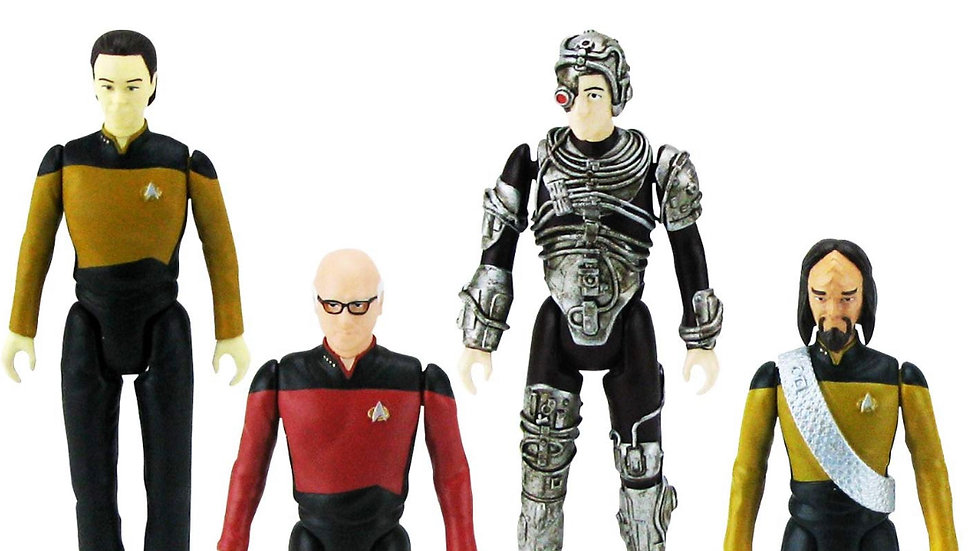 Bif Bang Pow! The Big Bang Theory/Star Trek: The Next Generation Figures Set, 3