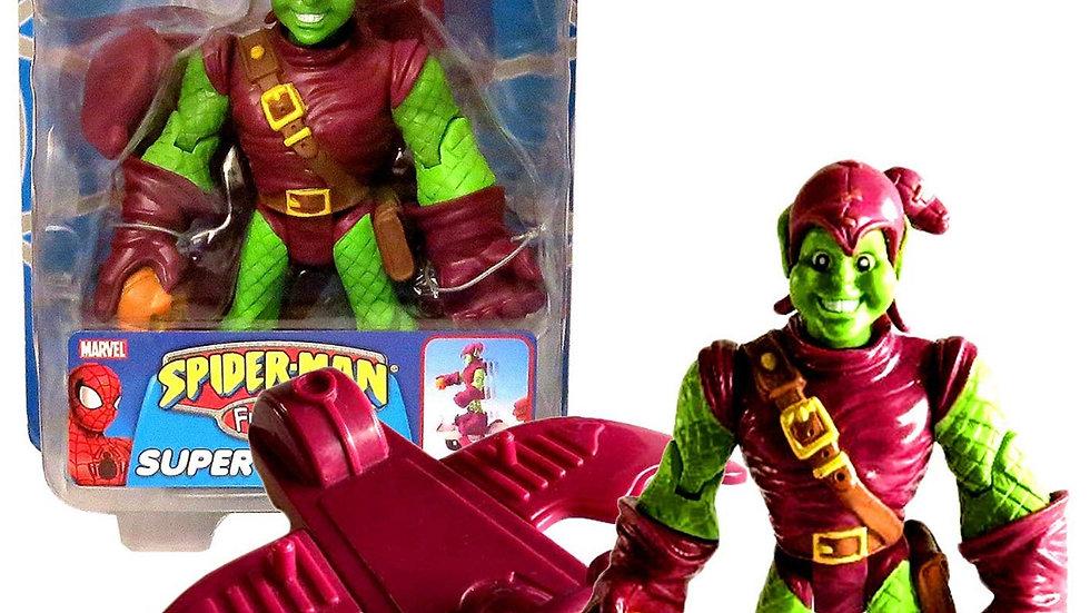 Marvel  2005 Spider-Man & Friends Super Heroes Green Goblin Action Figure