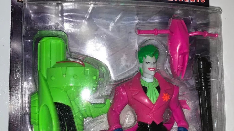 Batman Beyond The Joker Action Figure with Assault Hover Cycle Hasbro