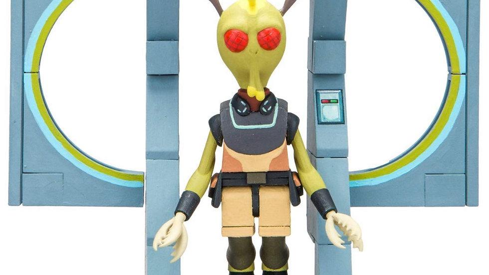 McFarlane Toys Rick & Morty The Discreet Assassin Micro Construction Set Playset