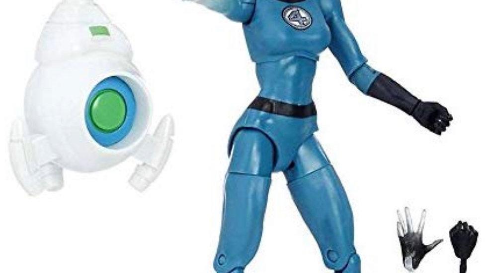 Marvel Legends 6-Inch Fantastic Four Invisible Woman Sue Storm Action Figure wit