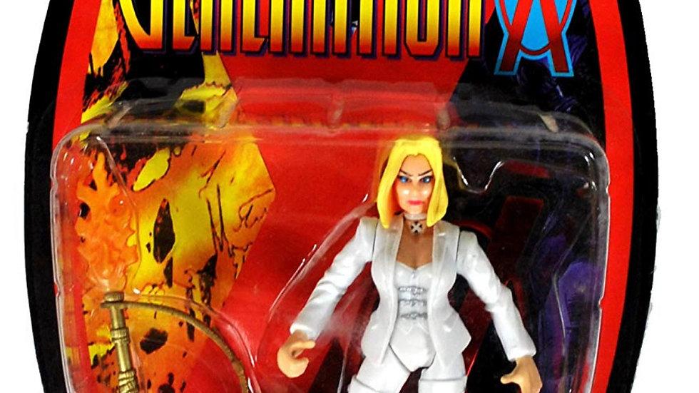 ToyBiz Year 1996 Marvel Comics X-Men Generation X White Queen Action Figure