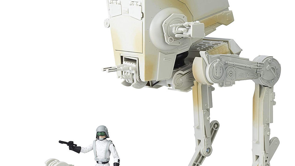 Star Wars Black Series Imperial AT-ST Walker and Imperial AT-ST Driver