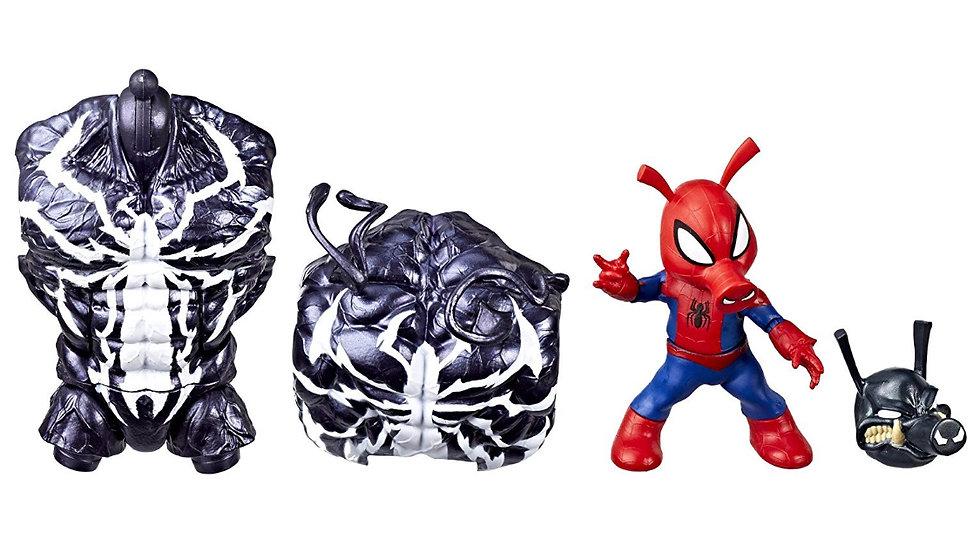 "Marvel Legends Spider-Man Spider-Ham 6"" Action Figure Venom Build-a-Figure"