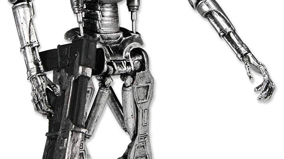 "NECA Classic Terminator Scale Endoskeleton in Window Box Action Figure, 7"""