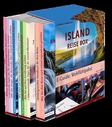 Island Reise-Box
