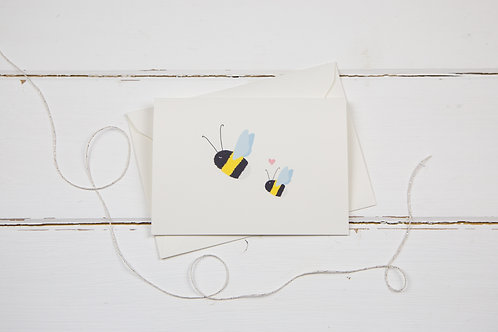 Bee Mother's Day greetings card