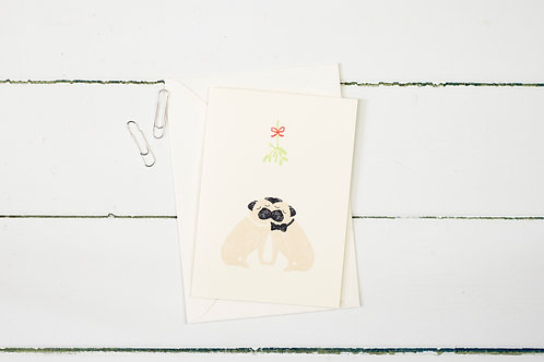 Mistletoe Pugs