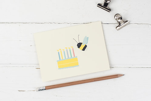 Birthday Bee card