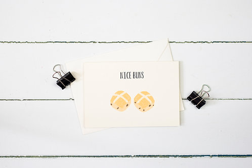 Nice Buns- Easter greetings card