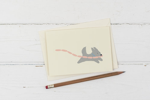 Runaway Terrier card