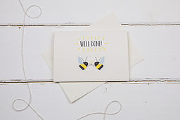 The Illustrated Wisp- Well Done Bees card