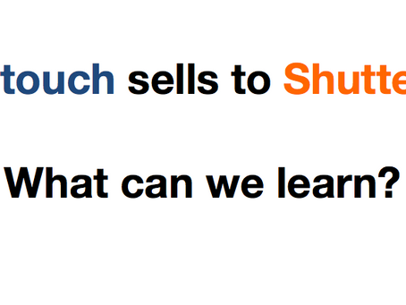 Lifetouch sells to Shutterfly - What can we learn from this?