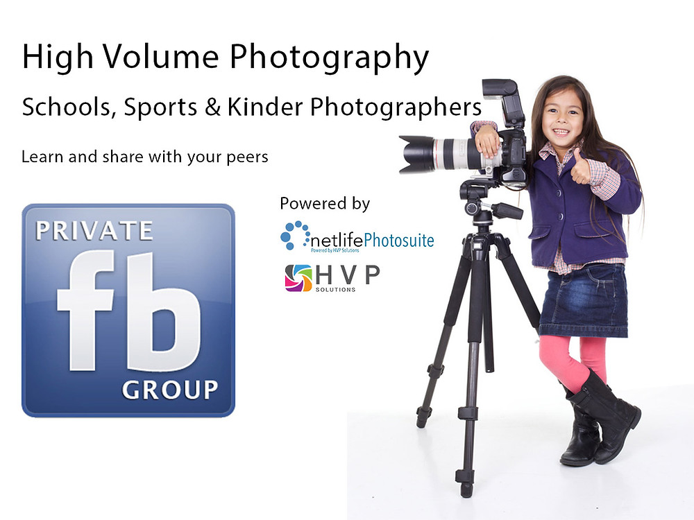 High volume photography facebook group