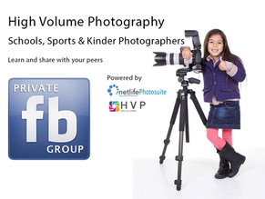 Private Facebook Group for School, Sports & Kinder Photographers