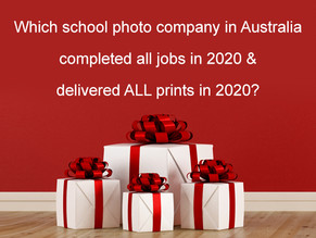 School photo company in Australia completes all jobs in 2020 & delivers all orders before Christmas