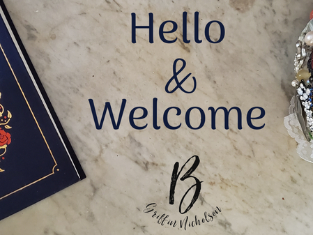 Hello & Welcome