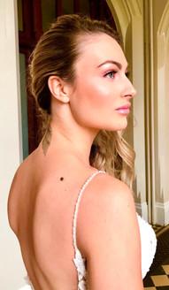 Glamorous Blush Bridal Make-up
