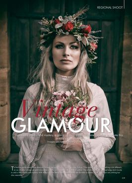 Published work in prestigious CWM wedding magazine
