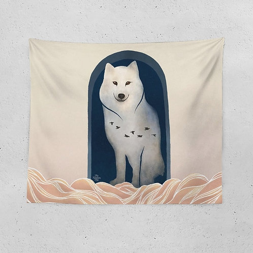 The Wolf Calling Tapestry