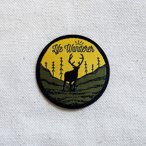Life Wanderer Patch-Badge