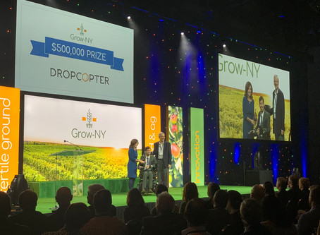 Dropcopter Wins $500,000 in Grow-NY Competition