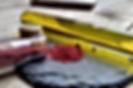 Rote Beete-Dip mit Birne, Vanille Orangen und Salz