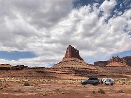 Raven camper, Utah