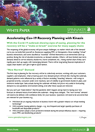 Accelerating Covid-19 Recovery Planning