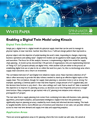 Enabling a Digital Twin Model using Kina