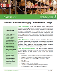 Industrial Manufacturer Supply Chain Net