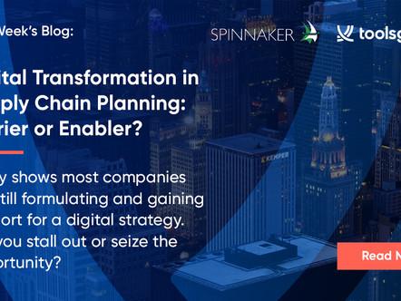Digital Transformation in Supply Chain Planning: Barrier or Enabler?