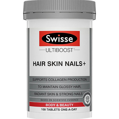 Swisse Ultiboost Hair Skin Nails+ 100Tabs