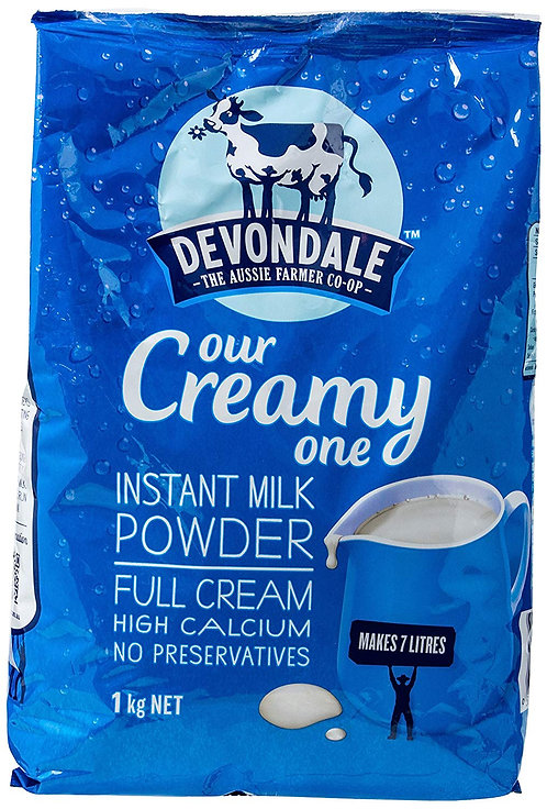 Devondale-Instant Milk Powder Full Cream 1kg