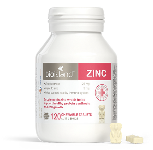 Bio Island-Zinc 120 Chewable Tablets