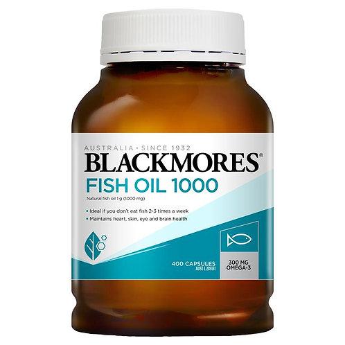 Blackmores-Fish Oil 1000mg 400 Capsules