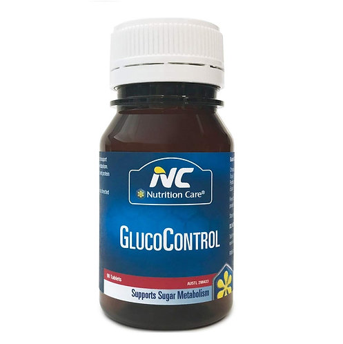 Nutrition Care-GlucoControl 90 Tablets
