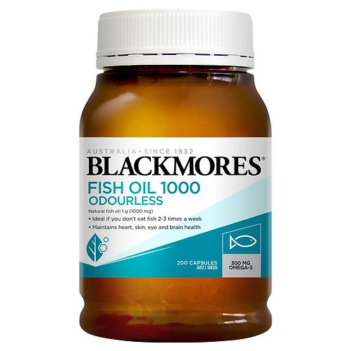Blackmores Odourless Fish Oil 1000mg (400 Capsules)