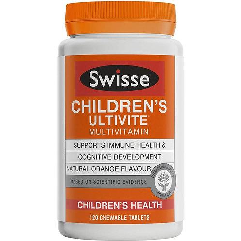 Swisse Children's Ultivite 120tablets
