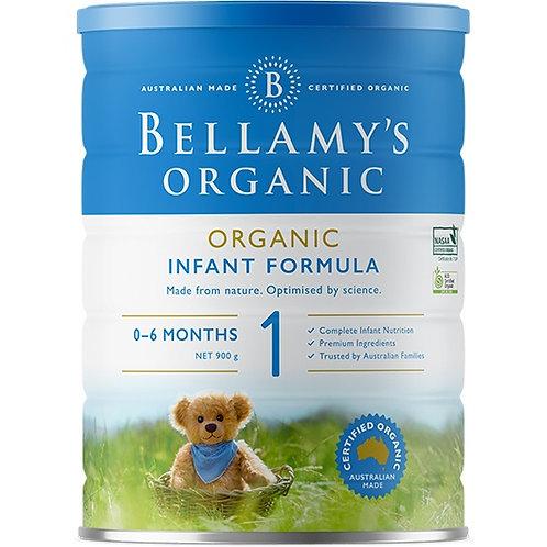 Bellamy's Organic Infant Formula Step 1 900g
