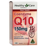 Healthy Care CoQ10 150mg 100 Capsules