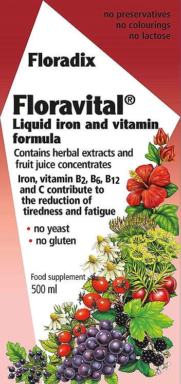Floradix Formula Liquid Herbal Iron Extract 500ml