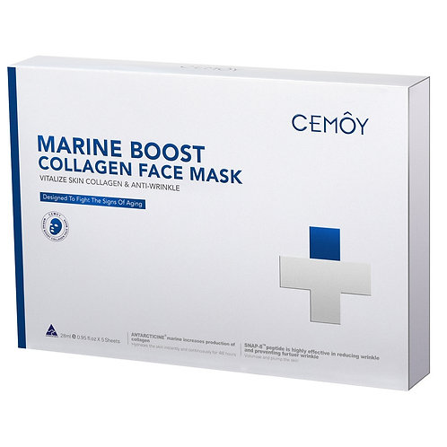 CEMOY Marine Boost Collagen Face Mask 5 Pack