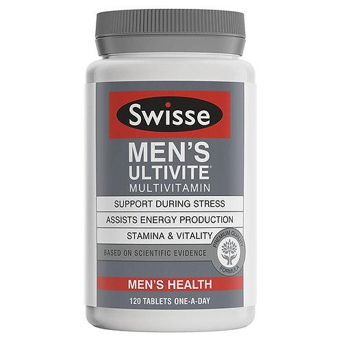 Swisse Men's Ultivite Tablets 120Tabs