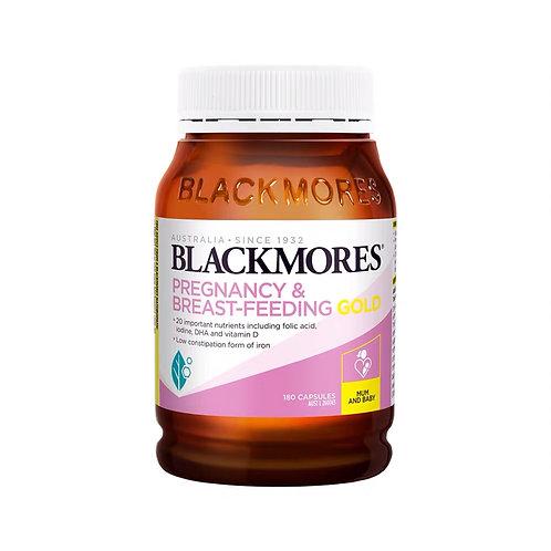 Blackmores Pregnancy & Breast-Feeding Gold (180 Capsules)